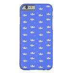 Tiburones lindos funda de iPhone 6 barely there