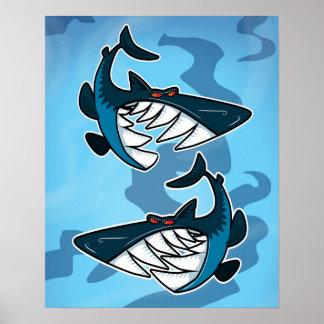 Tiburones Posters