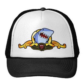 Tiburones para el casquillo del camionero del moti gorro de camionero