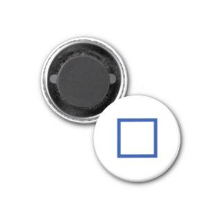 """Tic"""" imán del refrigerador """"del dedo del pie Tac 1"""