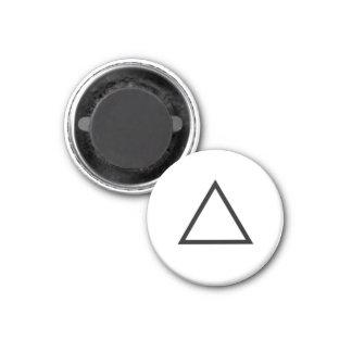 """Tic imán """"triángulo """" del refrigerador del dedo de"""