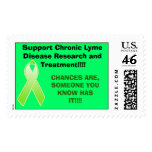 tic, Support Chronic Lyme Disease Research and ... Postage Stamps