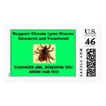 tic, Support Chronic Lyme Disease Research and ... Postage Stamp
