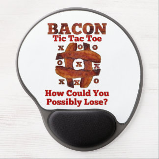 Tic Tac Bacon Gel Mouse Mat