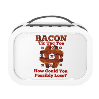 Tic Tac Bacon Lunchboxes