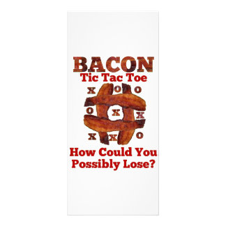 Tic Tac Bacon Rack Card