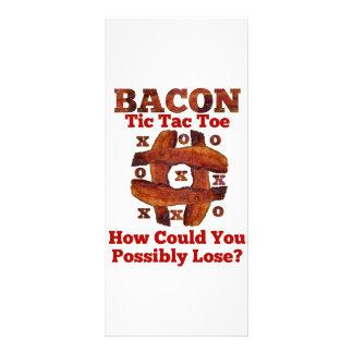 Tic Tac Bacon Customized Rack Card