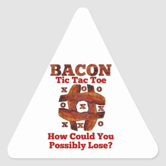 Tic Tac Bacon Sticker