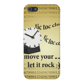 Tic Tac clock Cover For iPhone 5
