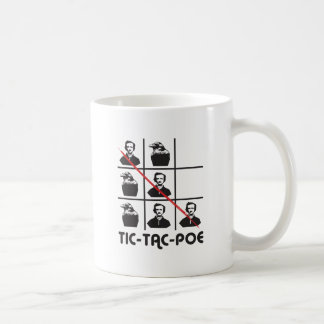 TIC-TAC-POE CLASSIC WHITE COFFEE MUG