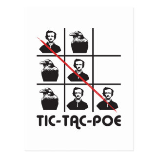 TIC-TAC-POE POSTCARD
