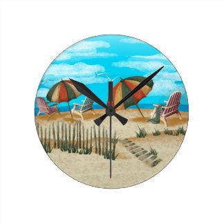 Tic Tac - Remember last summer Round Clock