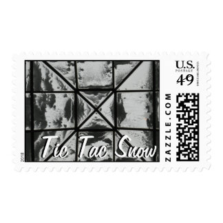Tic Tac Snow Postage Stamps