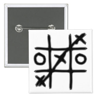 Tic Tac Toe - 3 in a Row Button