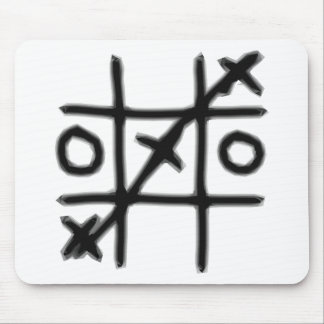 Tic Tac Toe - 3 in a Row Mouse Pad