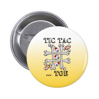 Tic Tac Toe Bones And Toes Button