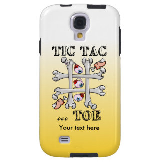 Tic Tac Toe Bones And Toes Galaxy S4 Case
