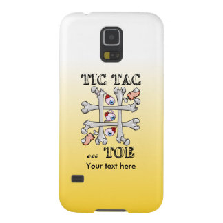 Tic Tac Toe Bones And Toes Galaxy S5 Case
