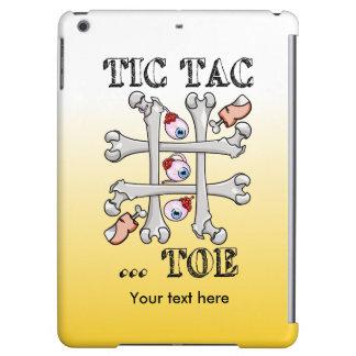 Tic Tac Toe Bones And Toes iPad Air Cases