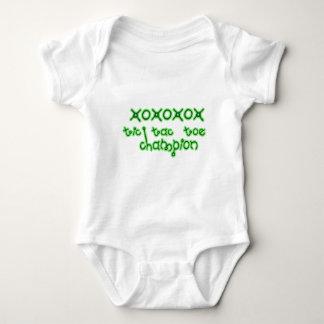 Tic Tac Toe Champion super cute xoxox Baby Bodysuit