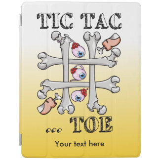 Tic Tac Toe Eyeballs And Toes iPad Smart Cover