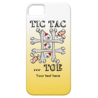 Tic Tac Toe Eyeballs And Toes iPhone SE/5/5s Case
