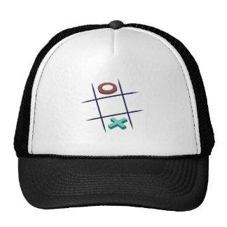 Tic_Tac_Toe Mesh Hat