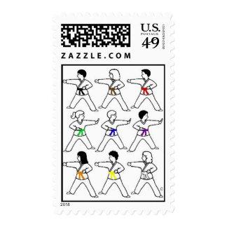 Tic Tac Toe Kids Stamps
