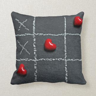 Tic Tac Toe Love Pillow