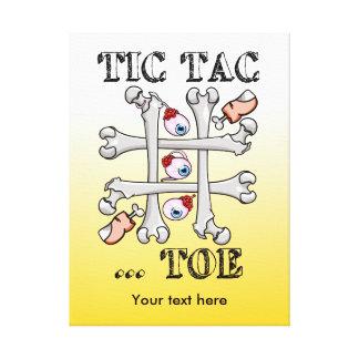 Tic Tac Toe Naughts And Crosses Canvas Print