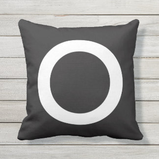 Tic-Tac-Toe Noughts and Crosses Funny Game Pillow