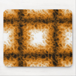 Tic Tac Toe on Fire Mouse Mats