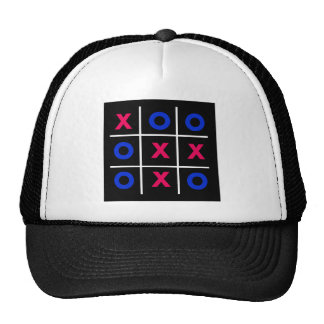 Tic Tac Toe Square Trucker Hat