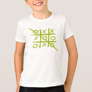 Tic-Tac-Toe Tris Noughts and Crosses game T-Shirt