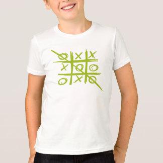 Tic-Tac-Toe Tris Noughts and Crosses game T-Shirt