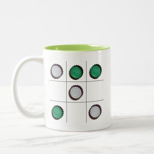 Tic Tac Toe Two Tone Mug