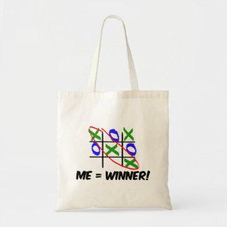 Tic Tac Toe Winner Canvas Bag