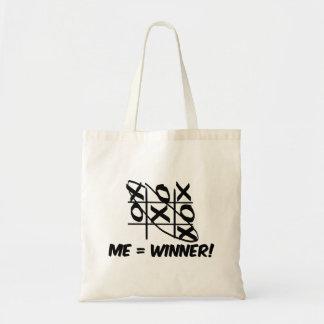 Tic Tac Toe Winner Tote Bag