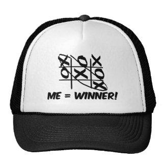 Tic Tac Toe Winner Mesh Hat