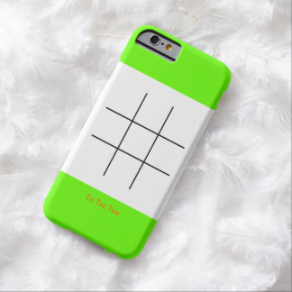 Tic Tac Toee Barely There iPhone 6 Case