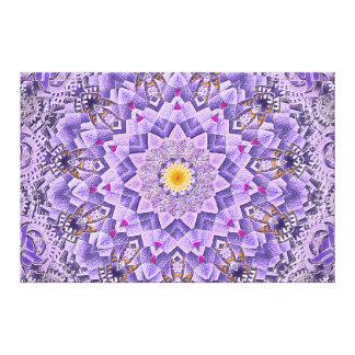 Tic-Toc Frolic Mandala Canvas Print