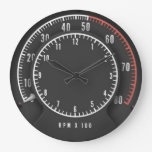 Tic-toc-tach Clock at Zazzle