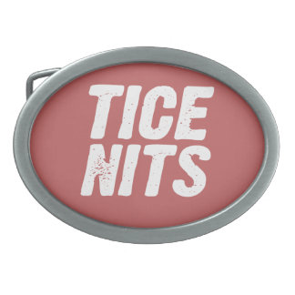 TICE NITS OVAL BELT BUCKLES