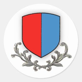 Ticino Round Sticker