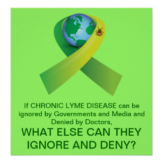 Tick Around the World: Chronic Lyme Disease Poster