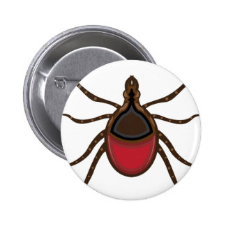 Tick insect button