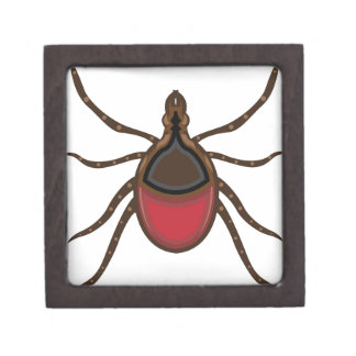 Tick insect jewelry box