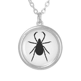 Tick Round Pendant Necklace