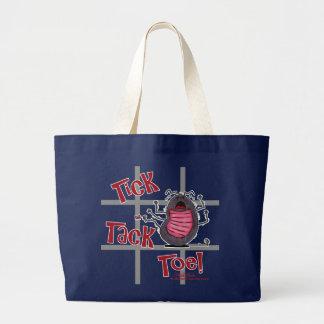 Tick Tack Toe! Canvas Bags