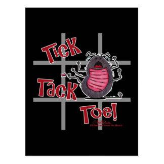 Tick Tack Toe! Postcard